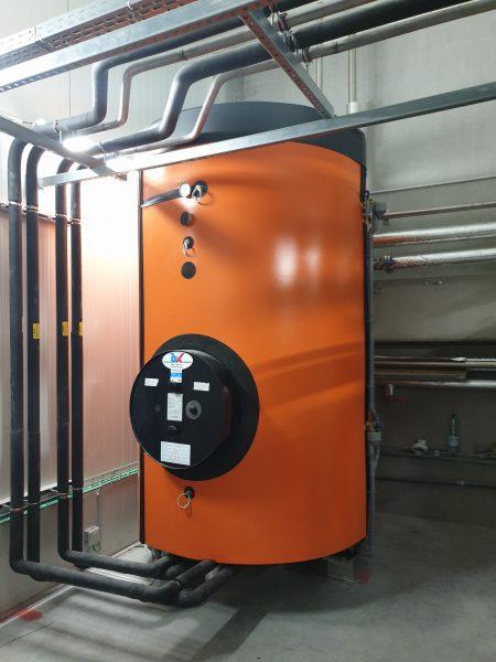 Warmterecuperatieboiler 3.500 L